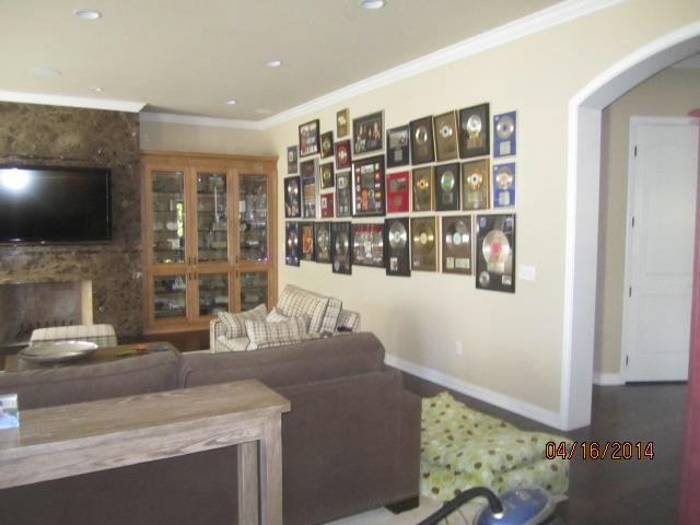 Entertainment Room in Malibu Home