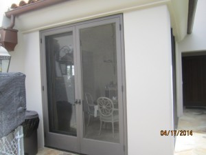 Custom Made Wood Screen Doors in Malibu