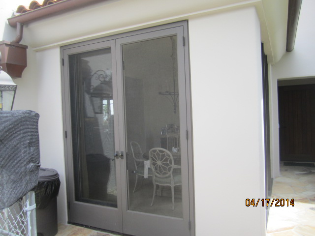 Custom Made Wood Screen Doors in Malibu