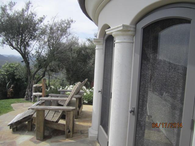 Custom Made Arched Wood Screen Doors in Malibu
