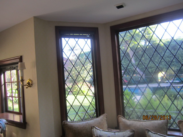 Drop Down Retractable Screen Windows installed in Beverly Hills
