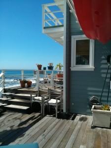Window Screens in Malibu Summer Beach House