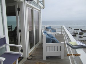 Screen Doors in Malibu Summer Beach House