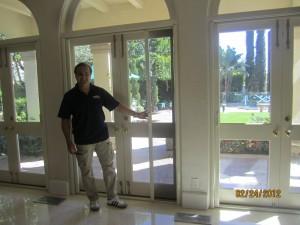 Vanishing Screen Doors in Bel Air
