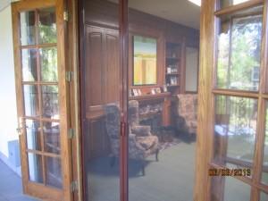 Double Set of Retractable Screen Doors in Sherman Oaks