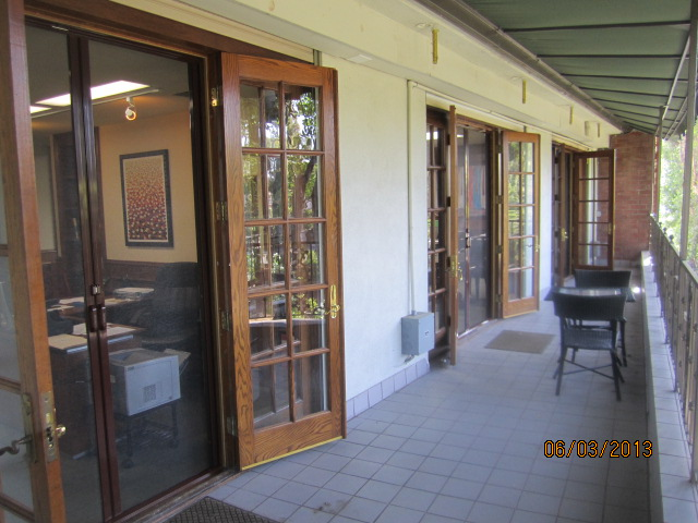 Double Set of Retractable Screen Doors installed In 1st London Law Offices of Sherman Oaks