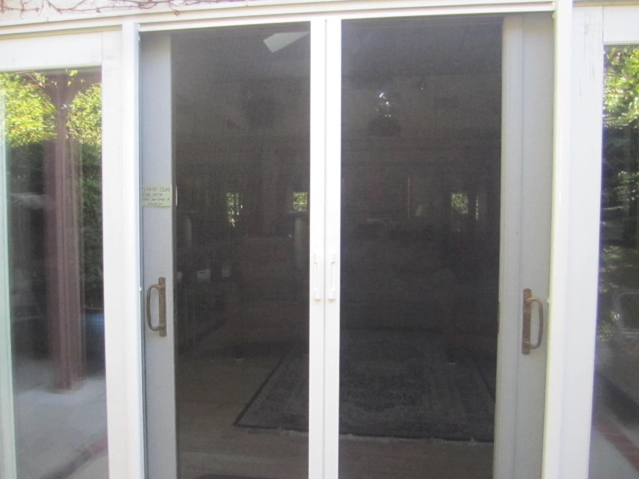 Beverly Hills Retractable Screen Doors