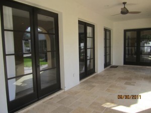 Malibu Retractable Screen Doors