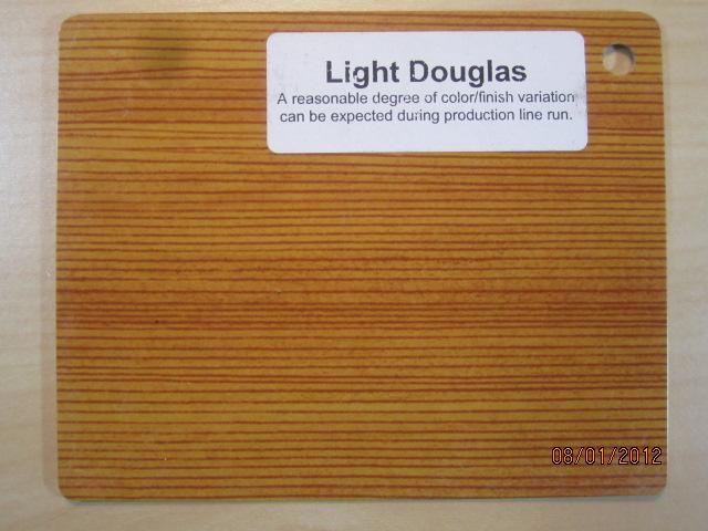 Wood Color Plates Light Douglas