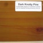 Wood Color Plates Dark Knotty Pine