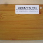 Wood Color Plates Light Knotty Pine