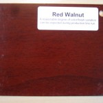 Wood Color Plates Red Walnut