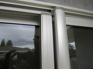 Clear Anodized Retractable Screen Housing, decolum and rail