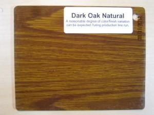 Wood Color Dark Oak Natural