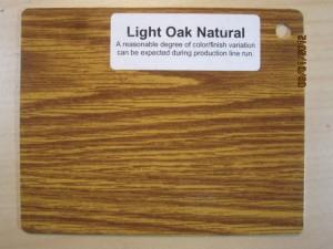 Wood Color Light Oak Natural