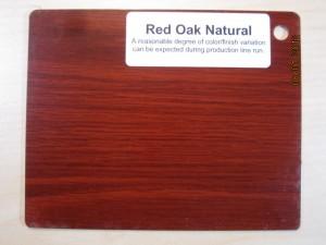 Wood Color Red Oak Natural