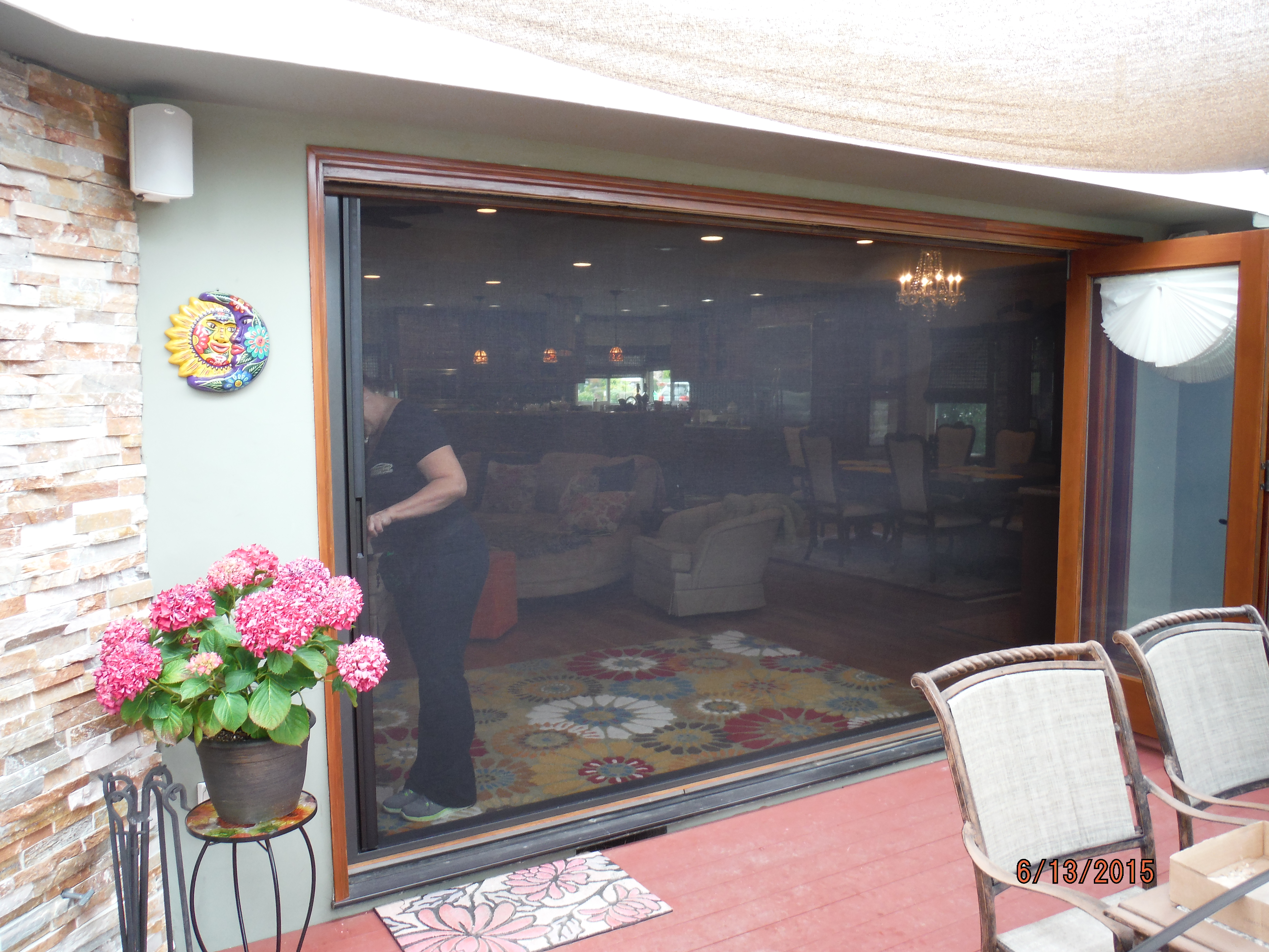 Centor Arquitectural Retractable Screens in Encino