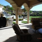 Calabasas High End Double Retractable Screen Doors Back Yard