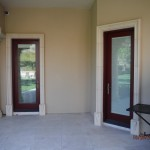 Calabasas High End Open Single Retractable Screen Door