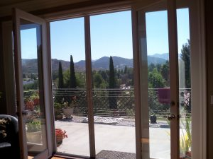 Retractable Screen Doors Custom Made in Sherman Oaks