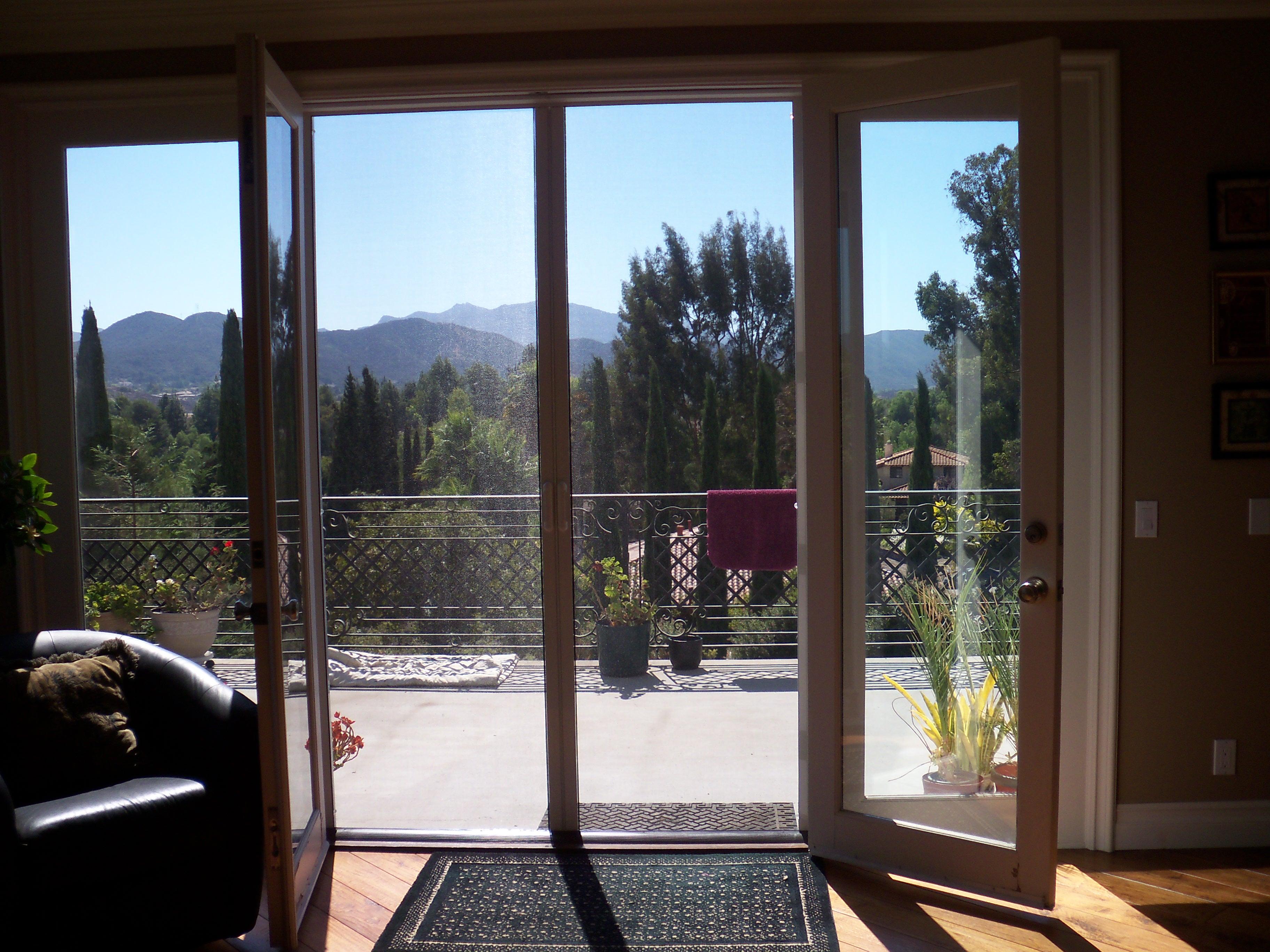 Sherman Oaks Retractable Screen Doors Custom Made