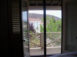 Open Retractable Screen Doors