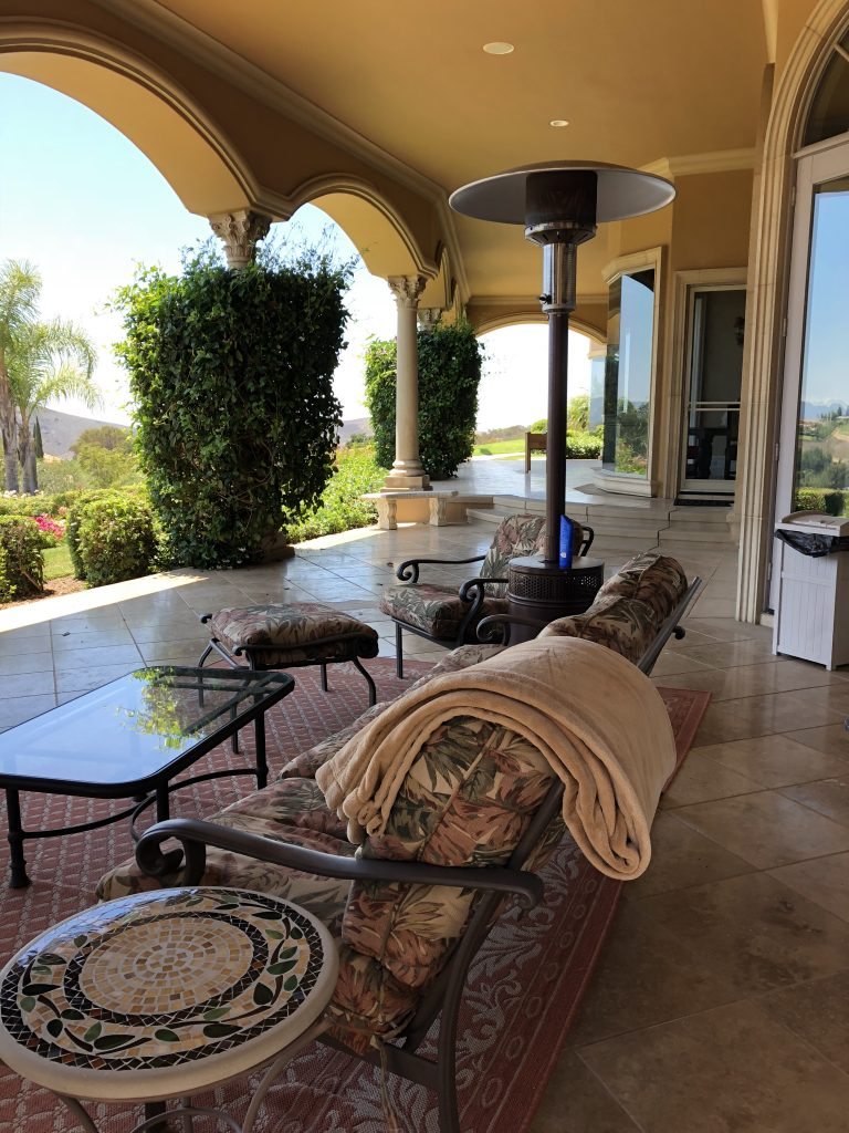 Model-E swinging screen door replacement in Calabasas