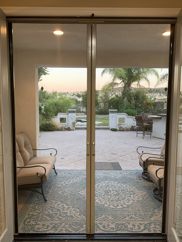 Malibu screen doors