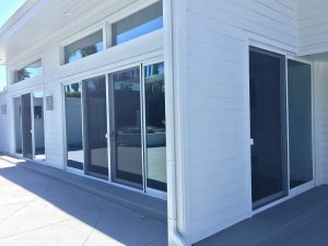 Patio sliding screen doors